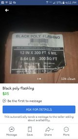 Black Poly Flashing New in Fort Rucker, Alabama