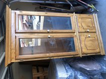 Oak Gun Cabinet in Fort Irwin, California