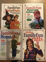 Family Fun craft books Hardcover in Bolingbrook, Illinois