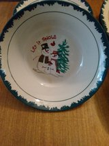 """""""LET IT SNOW"""" stoneware dishes in Baytown, Texas"""