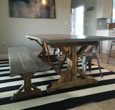 Country Farmhouse Table in Houston, Texas