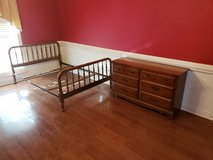 Full Size Bed And Dresser! in Macon, Georgia