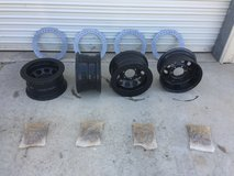 "DIY Beadlock Rims 15x8"" 6x5.5 bolt pattern in Fort Irwin, California"