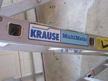 16 FT American Made Krause foldable ladder in Fort Belvoir, Virginia
