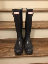 Hunter Boots  with sock inserts in Bolingbrook, Illinois