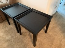 Dark Finish End Tables in Fort Rucker, Alabama