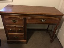 Solid wood desk in Camp Lejeune, North Carolina