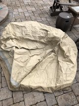 large round patio furniture cover in Lockport, Illinois