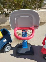 little tikes basketball hoop in Hemet, California