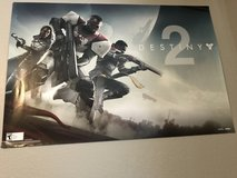 Destiny 2 double sided poster in Fort Bliss, Texas
