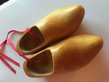 Vintage Dutch wooden shoes in Lockport, Illinois