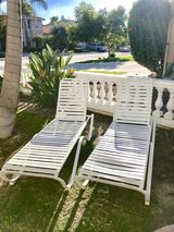 Brand New Never Used set of 2 Outdoor lounge chairs in Camp Pendleton, California