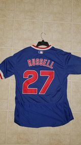 Addison Russell Chicago Cubs Vintage Throwback Jersey in Bartlett, Illinois