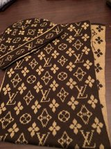 LV scarf and hat in Spring, Texas