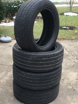 Four Nitto Crosstek 255/50R19 Tires in Plainfield, Illinois