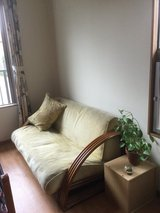 Couch / Sofa with matching pillow in Okinawa, Japan