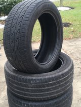Four Nitto 255/50R19 Tires in St. Charles, Illinois
