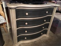 sold wood handpainted dresser in Eglin AFB, Florida