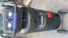 Kobalt stand-up air compressor in Houston, Texas