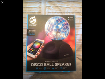 Smart Tech Bluetooth Disco ball speaker in Oceanside, California