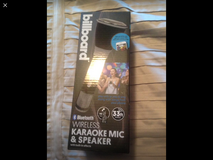 Wireless, Bluetooth, speaker karaoke Microphone in Oceanside, California