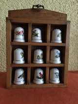 Set of 9 thimbles in Ramstein, Germany