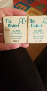 Park & Ride Tickets in Spring, Texas