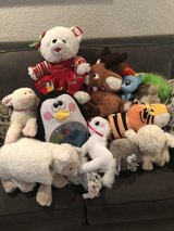 lot of stuffed animals in Vacaville, California