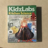 Kidz Labs Kitchen Science Experiment Kit Brand New in Fairfield, California