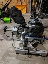 Compound Miter Saw with Stand in Clarksville, Tennessee
