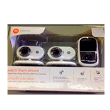 Motorola MBP25-2 Wireless 2.4 GHz Video Security Camera/Baby Monitor with 2.4-Inch Color LCD Scr... in 29 Palms, California