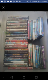 Dvds for sale $1 each in 29 Palms, California
