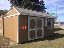 PRE-OWNED10x16 Garden Shed Storage Building BIG DISCOUNT!! in Moody AFB, Georgia