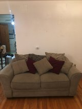 clean like new loveseat pillows includded in Morris, Illinois