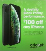 Any iPhone $100 off when you switch to Cricket Wireless in Tinley Park, Illinois