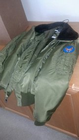 Nice original Avirex LTD flight garment.military coat. in Travis AFB, California