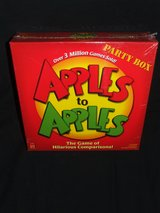Apples To Apples Game by Mattel 2007 Version NEW in Aurora, Illinois