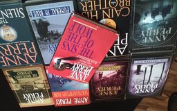 ANNE PERRY nine hard back books in Orland Park, Illinois
