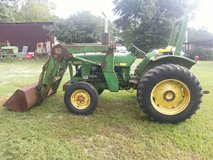 tractor and rototilling work in DeRidder, Louisiana