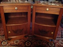 ! Vintage End Tables, Bed Side Night Tables, Night Stands, Cabinets, Schranks in Ramstein, Germany