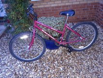 Burgundy Raleigh Zest in Lakenheath, UK