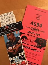 4 GREAT Seats-200 level-Chicago Bears vs LA Rams-12/9- Includes SOUTH LOT Parking Pass! in Westmont, Illinois