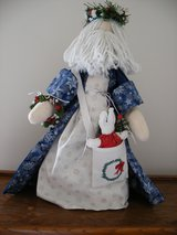 Santa (hand made) in Bartlett, Illinois