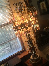 Antique Crystal Table Lamp in Glendale Heights, Illinois