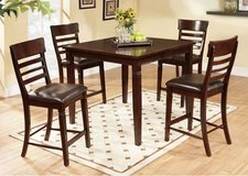 Ashley Pub Dining Table and Chairs in Camp Lejeune, North Carolina