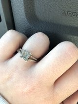diamond ring in white gold in Fort Polk, Louisiana