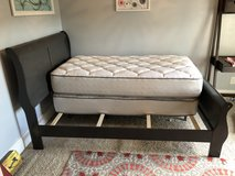 Full sleigh bed frame in Camp Lejeune, North Carolina