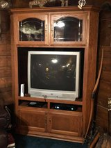 Entertainment Center and Television in Fort Polk, Louisiana