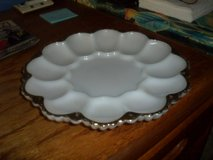 milk glass egg plate in Camp Lejeune, North Carolina