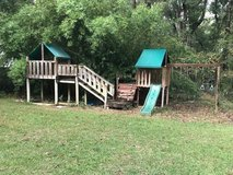 Outdoor swing / play fort in Beaufort, South Carolina